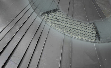 Reinforced Flexible Graphite Plates